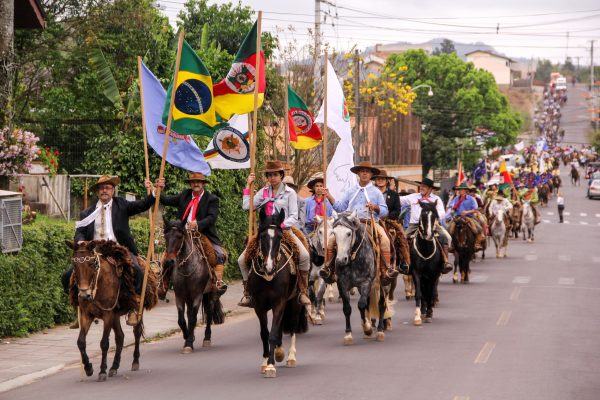 CTG o Fogão Gaúcho realizará cavalgada em comemoração à Semana Farroupilha em Taquara