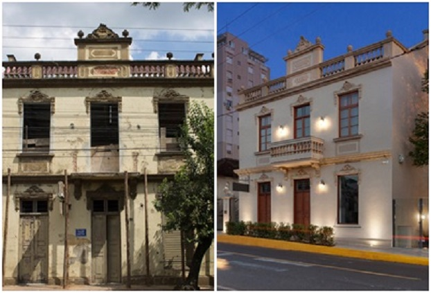 Retrofit: uma nova 'roupagem' em prédios antigos e históricos de Taquara – Conheça a Casa Dienstmann