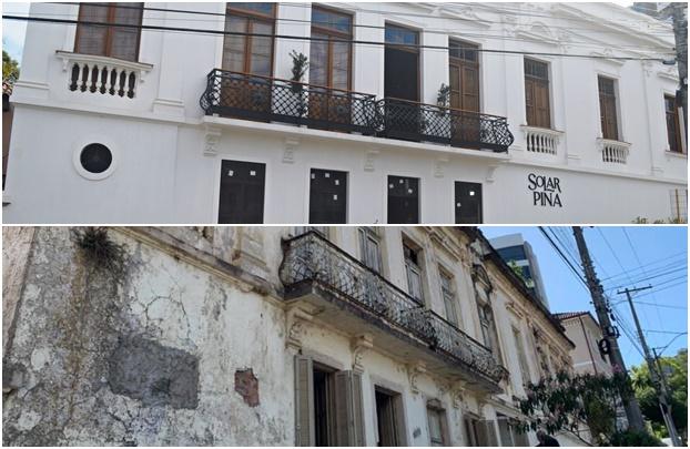 Retrofit: uma nova 'roupagem' em prédios antigos e históricos de Taquara - Conheça o Solar Pina