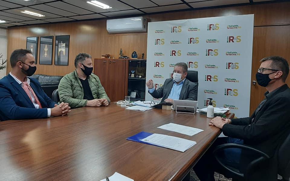 Representantes de Igrejinha se reúnem com vice-governador em busca de mais segurança para o município