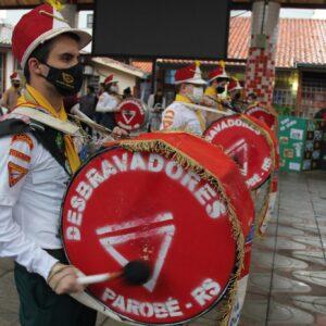 Sete de Setembro tem Hora Cívica em Parobé; veja fotos