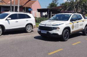Homem é preso com veículo roubado em Igrejinha