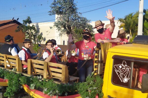 Carreata do Chopp marca o início da edição deste ano da Oktoberfest de Igrejinha